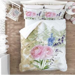 Ozdobný spálňový set  Pink Rose, 200x265 cm