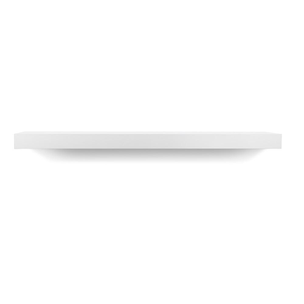 Biela polička TemaHome Balda, šírka 90 cm