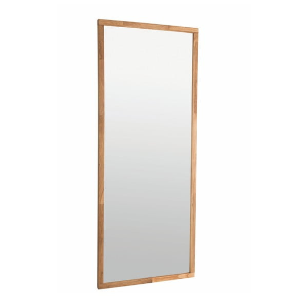 Prírodné dubové zrkadlo Folke Gefjun