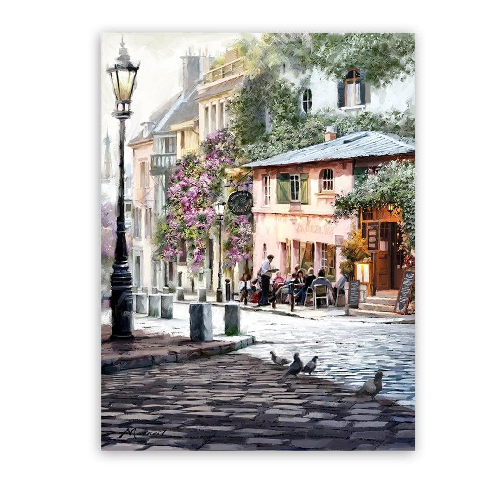Obraz Styler Canvas Summer Corner, 60 × 80 cm