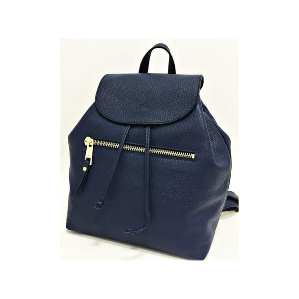Kožený batoh Era Blue