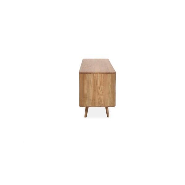 Komoda z dubového dreva Gazzda Ena, 180 x 42 x 60 cm