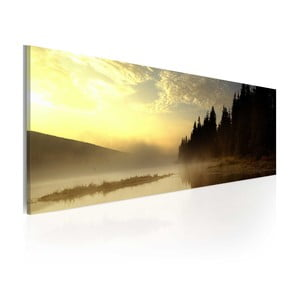 Obraz na plátne Artgeist Fog, 120x40cm