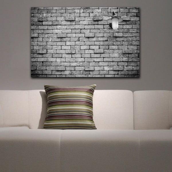 Obraz Black&White Brick, 45 x 70 cm