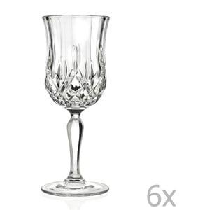 Sada 6 pohárov na sekt RCR Cristalleria Italiana Angiola