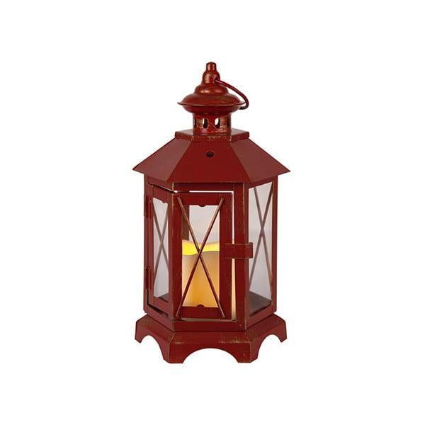 LED lampáš Eba, červený