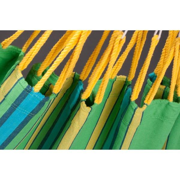 Hojdacia sieť Currambera až pre dvoch, zelená