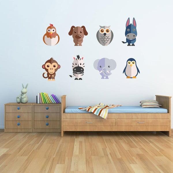 Samolepka na stenu Flat Animal