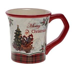 Keramický hrnček Santa