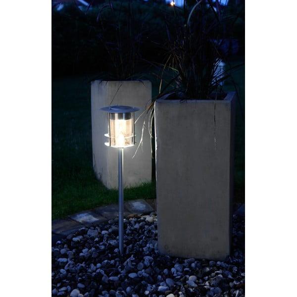 Záhradné svetlo Solar Energy Path Light Steel