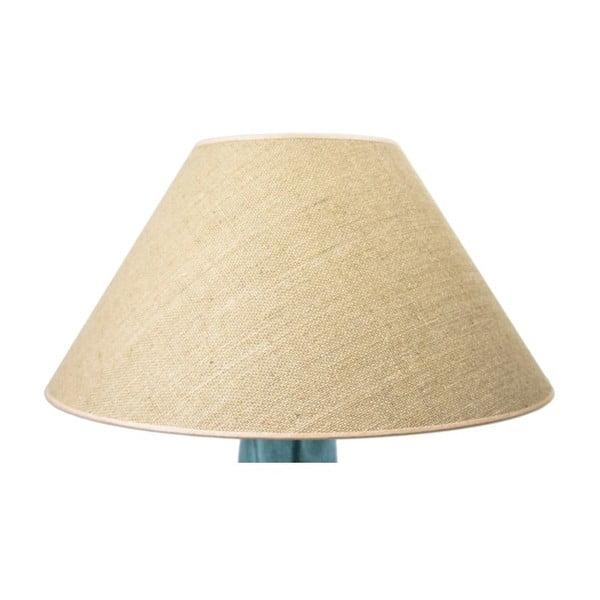 Stolová lampa Glass Classic, tyrkysová