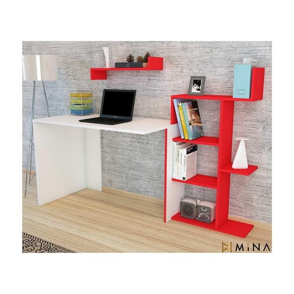 Pracovný stôl Minar Breed Red