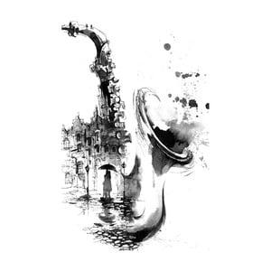 Obraz Black&White Nostalgic, 45 x 70 cm
