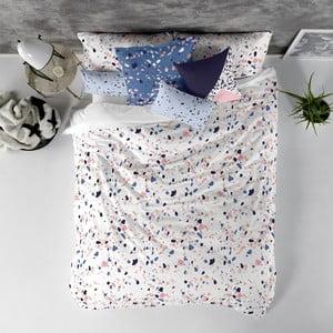 Balvnená obliečka na paplón Blanc Terrazzo, 240×220 cm