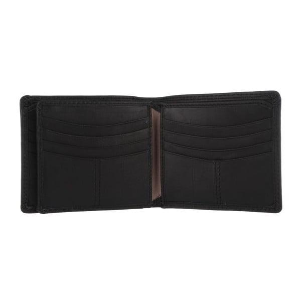Kožená peňaženka Benedict Oxford Black