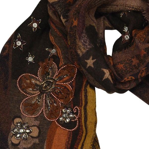 Vlnená šatka Shirin Sehan - Stella Autumn