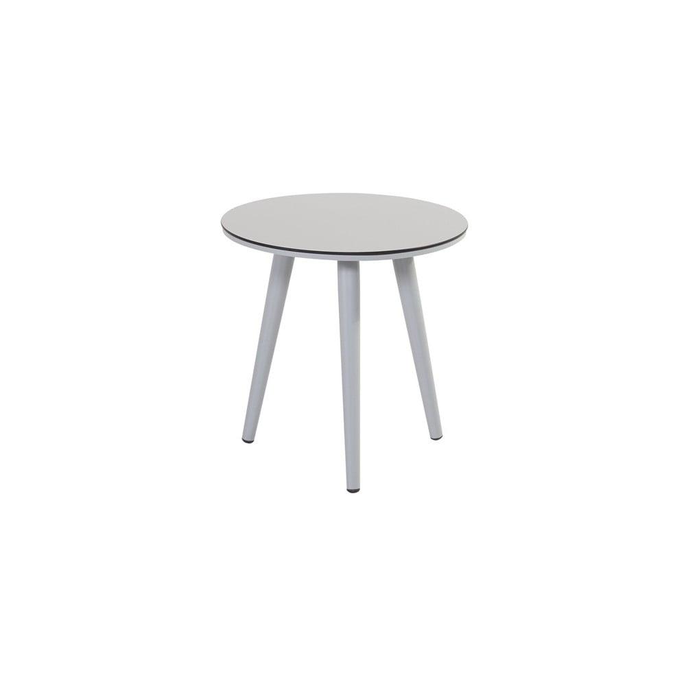 Sivý záhradný stolík Hartman Sophie Studio Bistro John, ø 45 cm