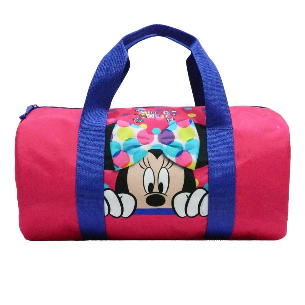Ružová detská športová taška Bagtrotter Minnie