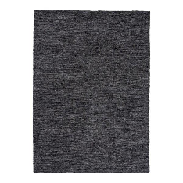 Vlnený koberec Regatta Steel, 140x200 cm