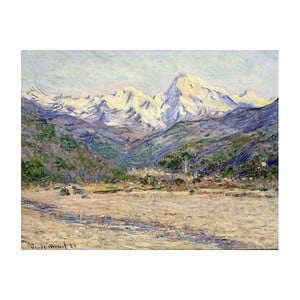 Obraz Claude Monet - The Valley of the Nervia, 50x40 cm