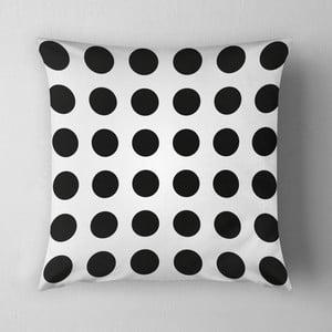 Vankúš Big Black Dots, 43x43 cm