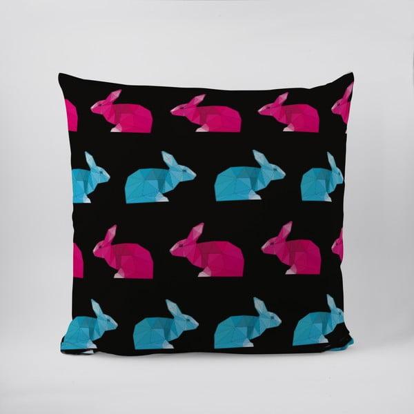 Vankúš Origami Rabbits