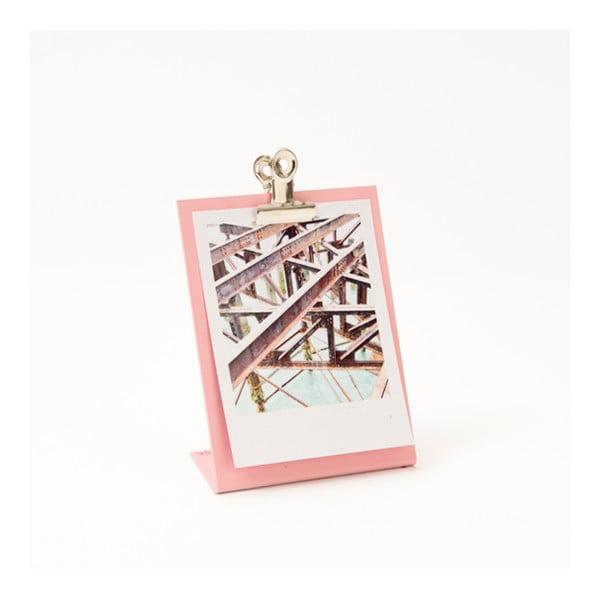 Ružový rámik na fotku Clipboard Small