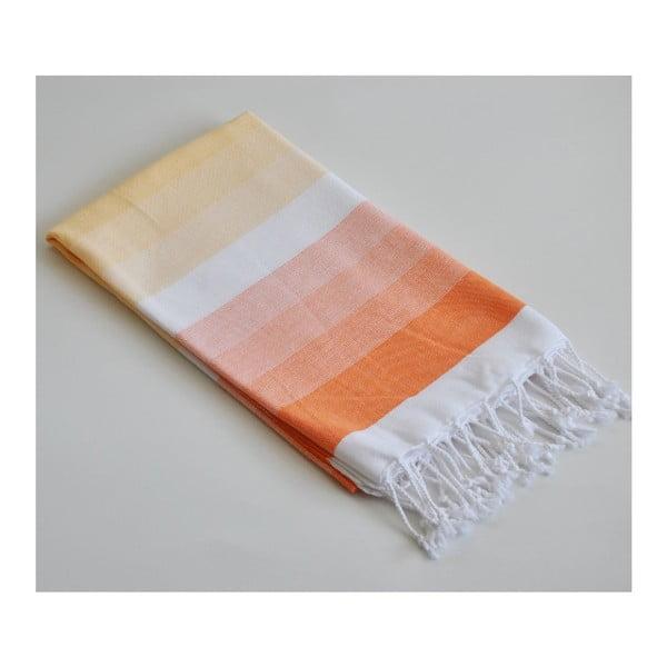Peshtamal Colorful Orange/Yellow, 95x170 cm