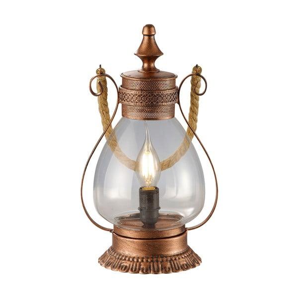 Stolová lampa Linda, medená