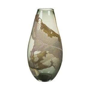 Ručne vyrábaná krištáľová váza SantiagoPons, výška 45 cm