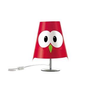 Červená detská lampička e-my Lucignolo
