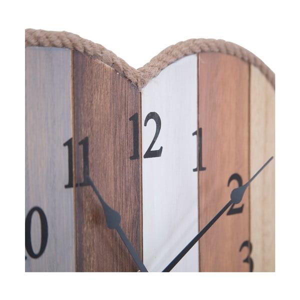 Nástenné hodiny Cuore Lignes, 29 cm
