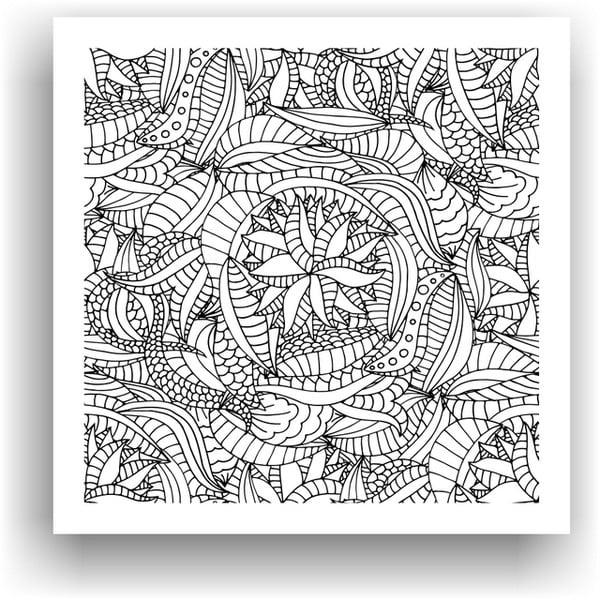 Obraz na vymaľovanie Color It no. 89, 50x50 cm