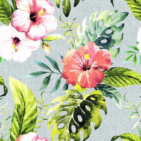 Obliečky Ferns Pink, 240x220 cm