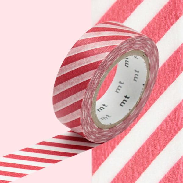 Washi páska Stripe Vermilion