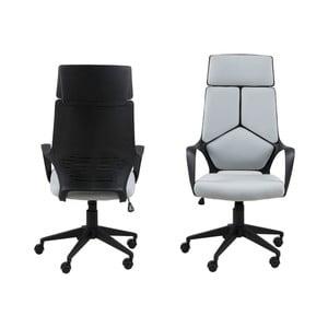 Svetlosivá kancelárska stolička Actona Dubnium