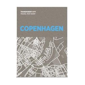 Mapa na poznámky Transparent City Kodaň