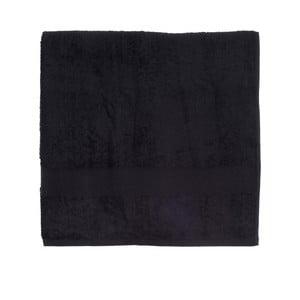 Čierna froté osuška Walra Frottier, 90×170 cm