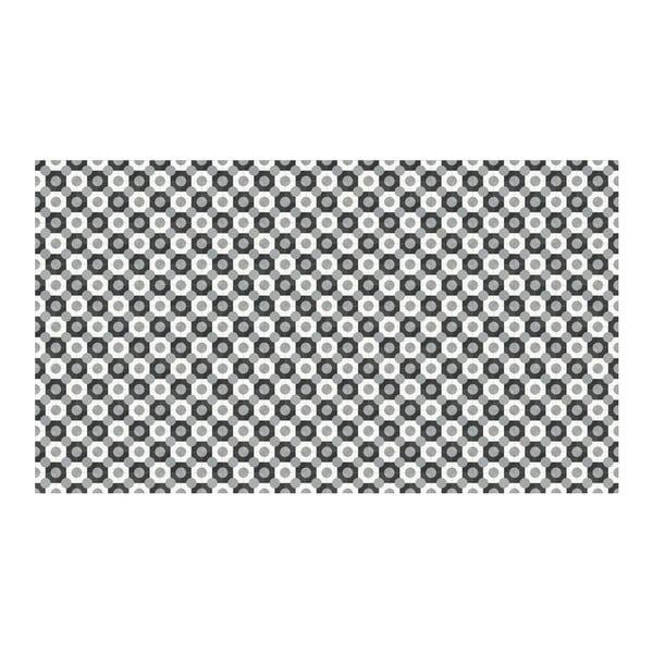 Vinylový koberec Dalia Grey, 52x180 cm