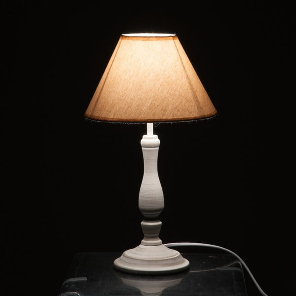 Stolná lampa Classic Lamp Grey and Beige