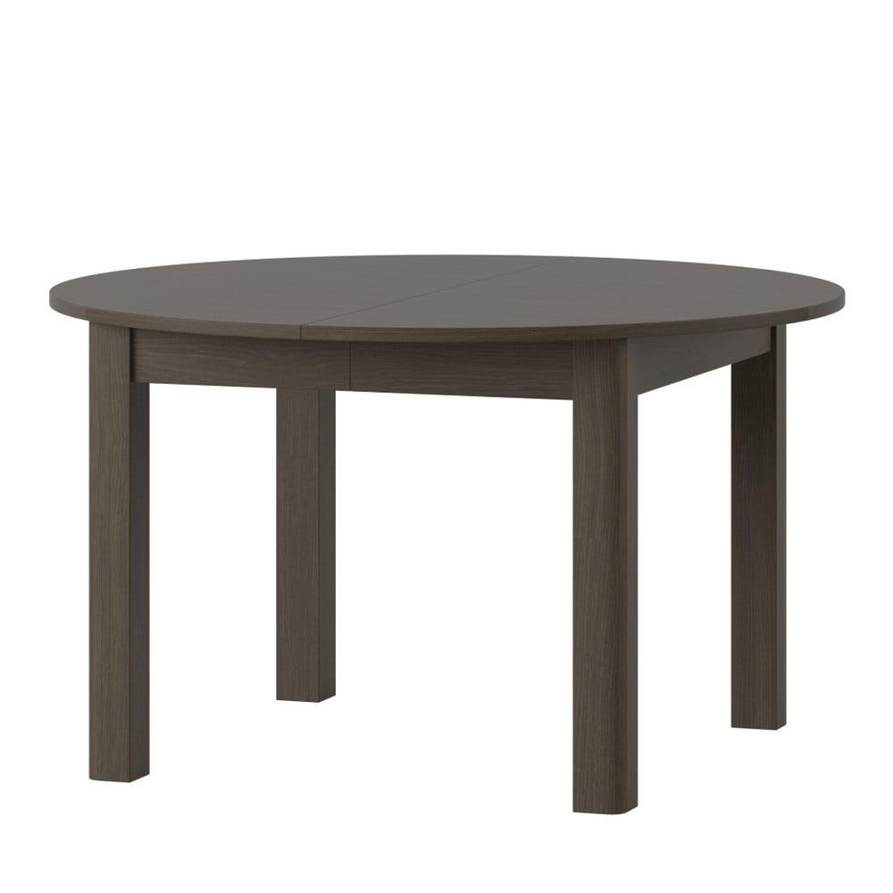 Rozkladací jedálenský stôl v tmavom drevenom dekore Szynaka Meble Uran2