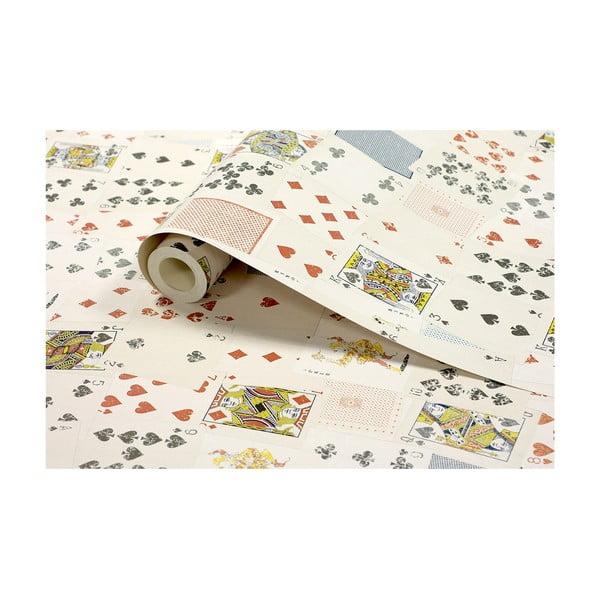 Tapetová rolka Hracie karty, 53x1005 cm