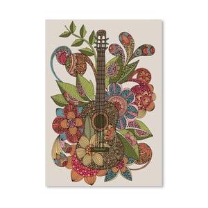 Autorský plagát Ever Guitar od Valentiny Ramos