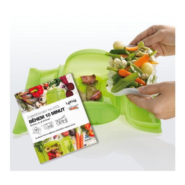 Naparovacie puzdro pre zdravé varenie Lékué + kuchárska kniha ZDARMA