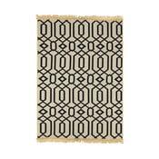 Modro-béžový koberec Ya Rugs Kenar, 120x180cm