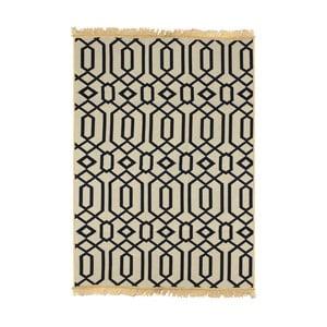 Modrobéžový koberec Ya Rugs Kenar, 120x180cm