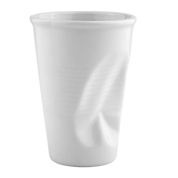 Pokrčený hrnček 0,2 l, biely