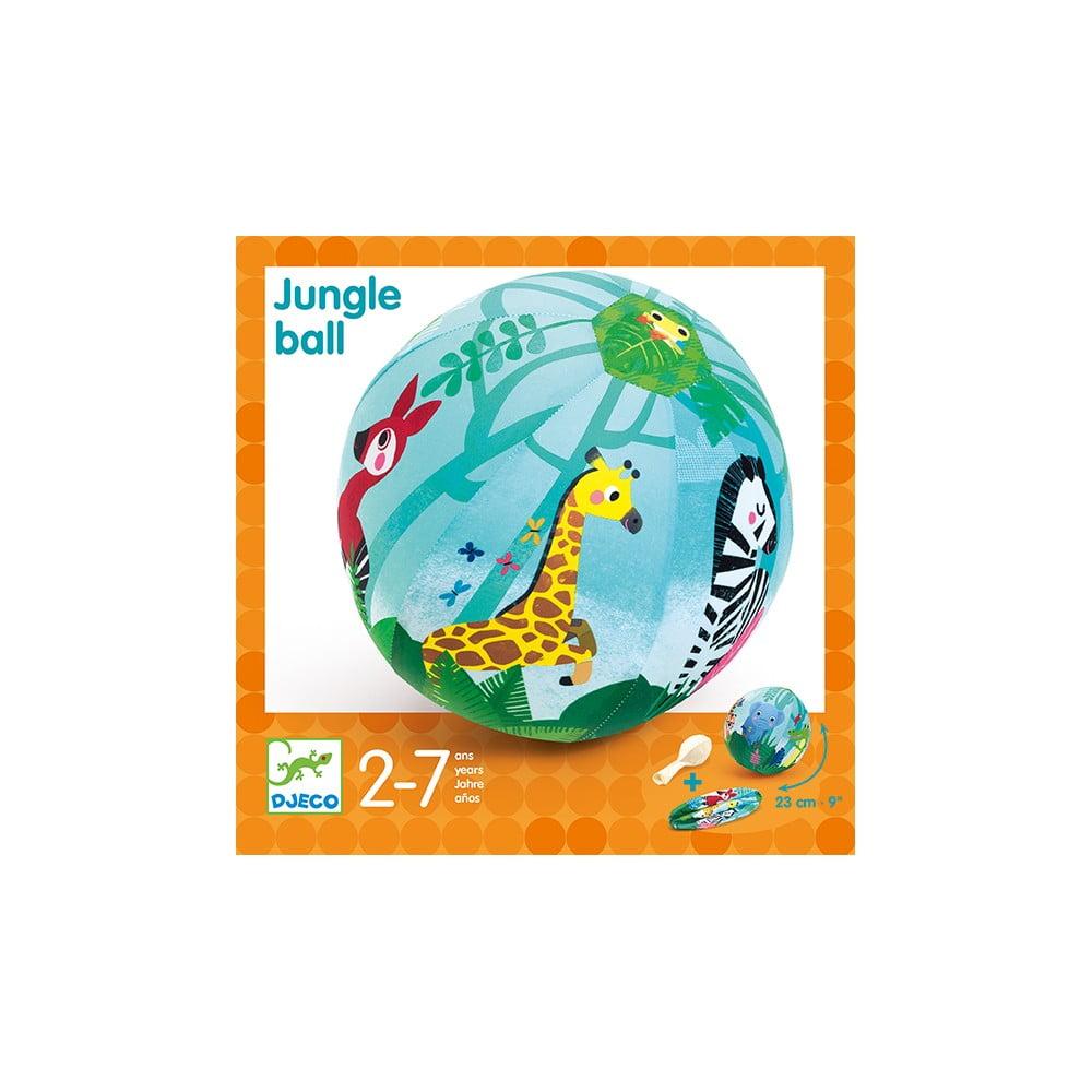 Detský set 4 nafukovacích balónikov a látkového poťahu Djeco Jungle