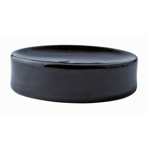 Podložka na mydlo Galzone, čierna