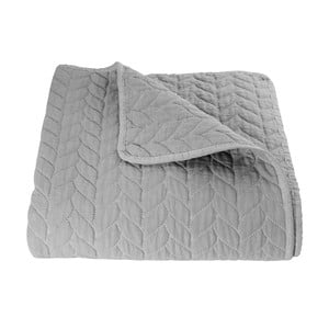 Sivá prikrývka Clayre & Eef Rusto Gris, 180 x 260 cm